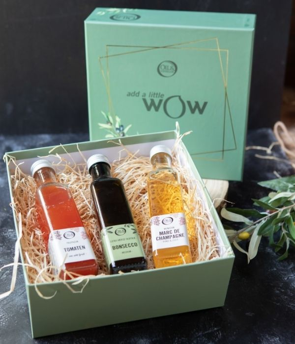 b2b cadeau oil vinegar bestsellers